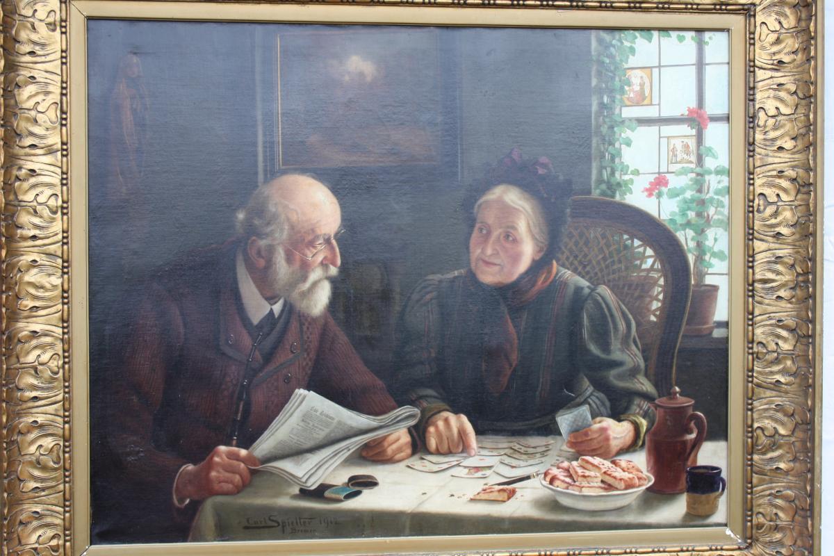 Carl Johann Spielter  Les Retraités