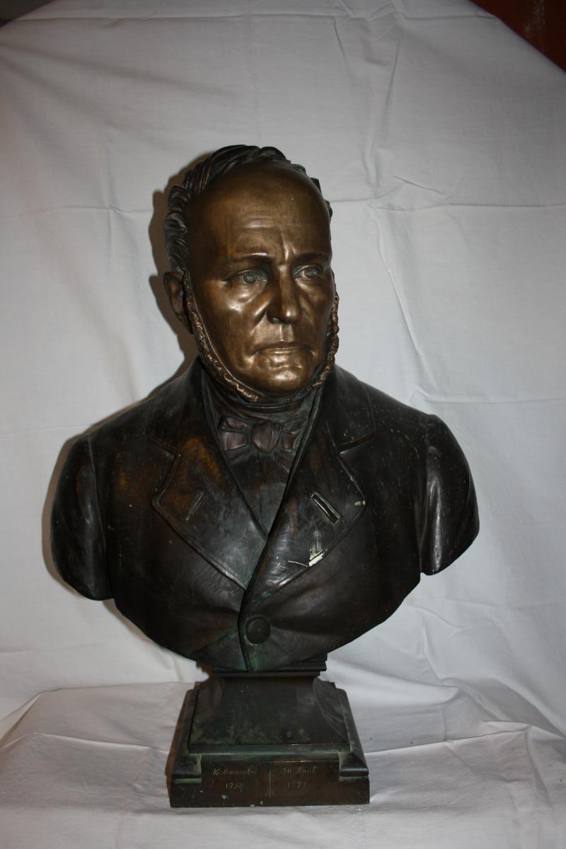 Bronze Buste Joseph Farcot