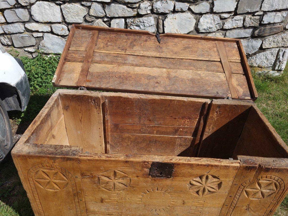 Coffre Queyras 17 Em Siécle-photo-2