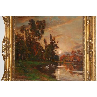 Etienne Philippe Martin (1856+1945) Parc Chateau  Borelli