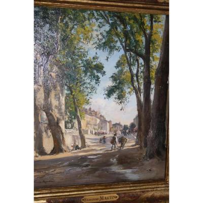 Etienne Philippe Martin (1856 + 1945) Bd Gassendi Digne And Place