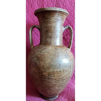 Amphora Gecque Geometric Decor 2200 - 2900 Bc