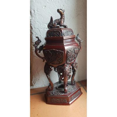 Brule Parfum Chinois Bronze 19 Em