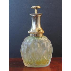 """Lalique Vaporisateur Pour Molinard """" Le Provencal """" ,verre moulé , art déco , 20 ème"""