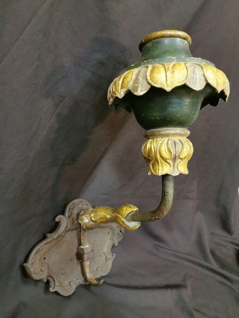 Grande Applique Amovible De Manège d'époque XVIIIème-photo-2