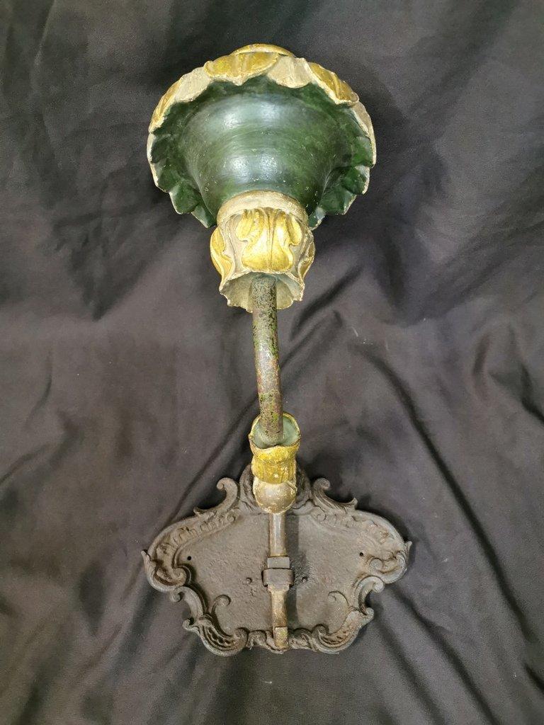 Grande Applique Amovible De Manège d'époque XVIIIème-photo-4