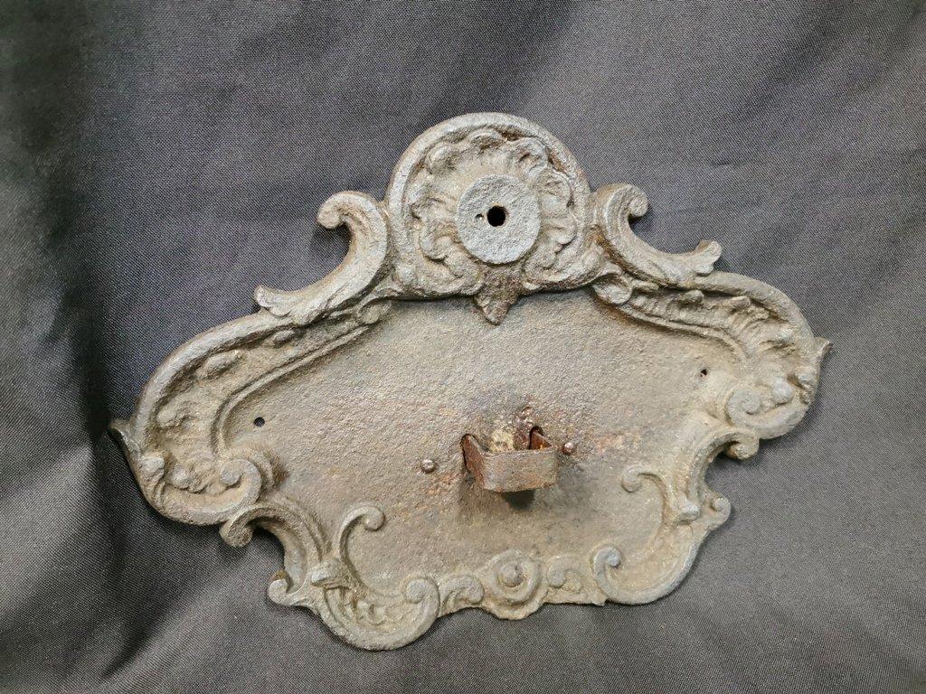Grande Applique Amovible De Manège d'époque XVIIIème-photo-7
