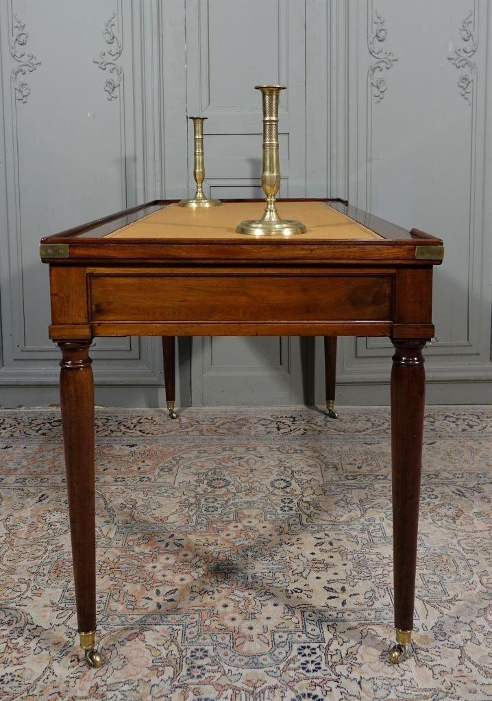 Table De Tric Trac d'époque Louis XVI Estampillée D.L ANCELLET-photo-1