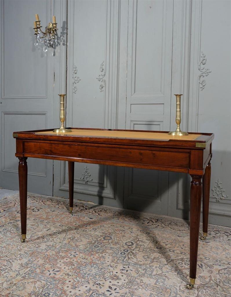 Table De Tric Trac d'époque Louis XVI Estampillée D.L ANCELLET-photo-5