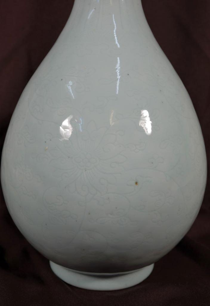 Vase En Porcelaine Céladon - Chine - Epoque Kangxi (1662-1722)-photo-4