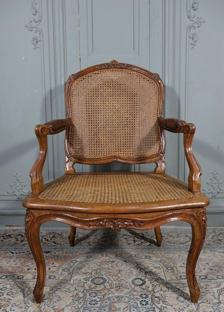 Louis XV Canne Armchair