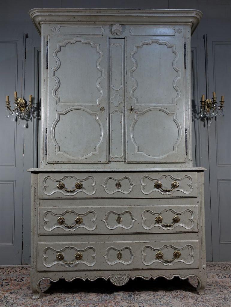 Rare Commode - Buffet D'époque Louis XV