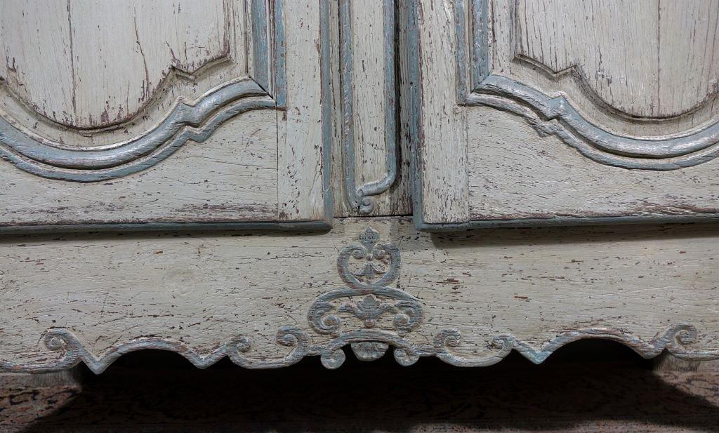 Small Painted Wardrobe, Regency Period-photo-6