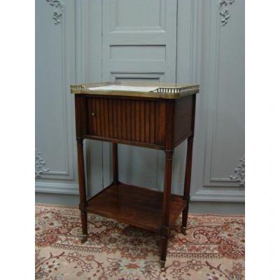 Table De Salon d'époque Louis XVI En Acajou