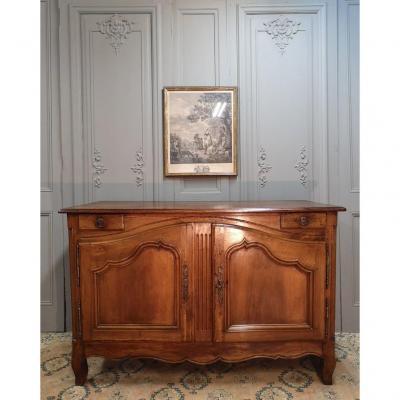 Buffet De Chasse En Noyer. Travail Lyonnais. Epoque Fin XVIIIème
