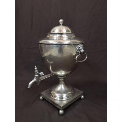 Samovar Silver Metal Period First Empire