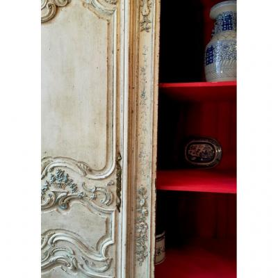 Wardrobe Regency Painted. Eighteenth Time.