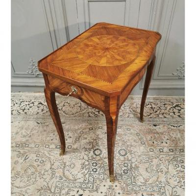 Transition Style Marquetry Table