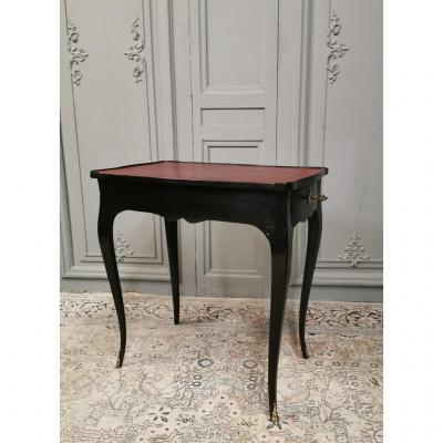 Black Louis XV Period Writing Table