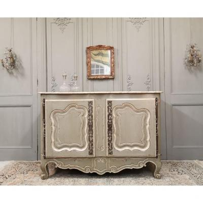 Provencal Buffet, Louis XV Period. Middle Of The 18th Century.