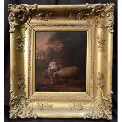 Huile Sur Panneau Signée Graat Barend (1628-1709) . Epoque Milieu XVIIème.
