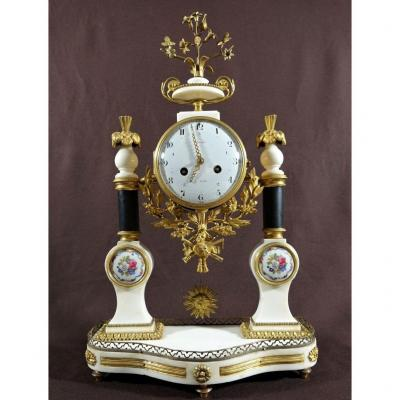 Louis XVI Period Clock. Late 18th Century.