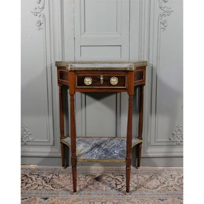 Console d'époque Louis XVI En Acajou