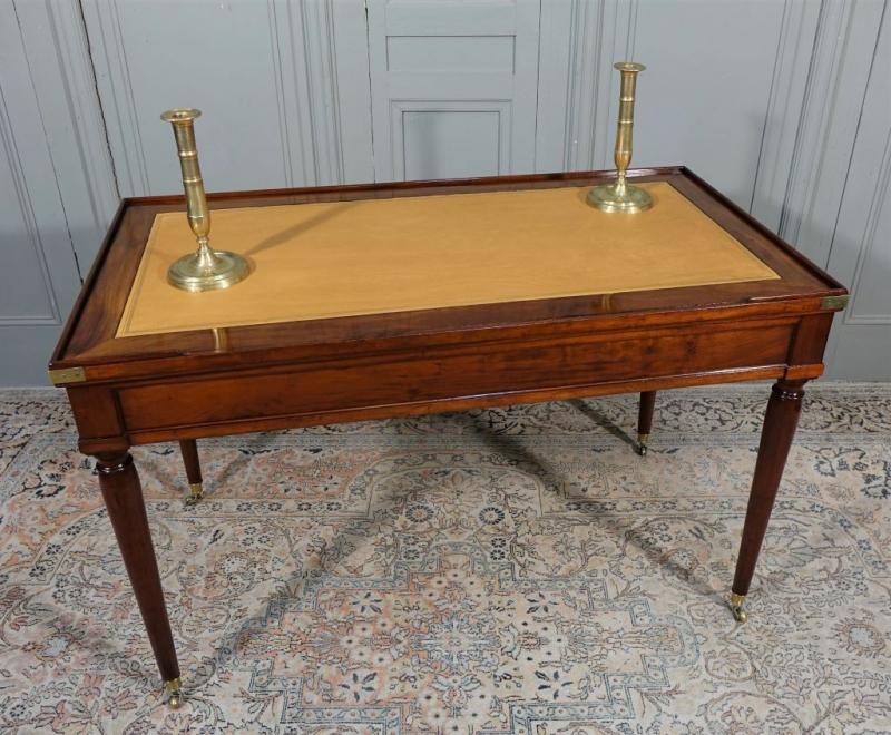 Table De Tric Trac d'époque Louis XVI Estampillée D.L ANCELLET-photo-3