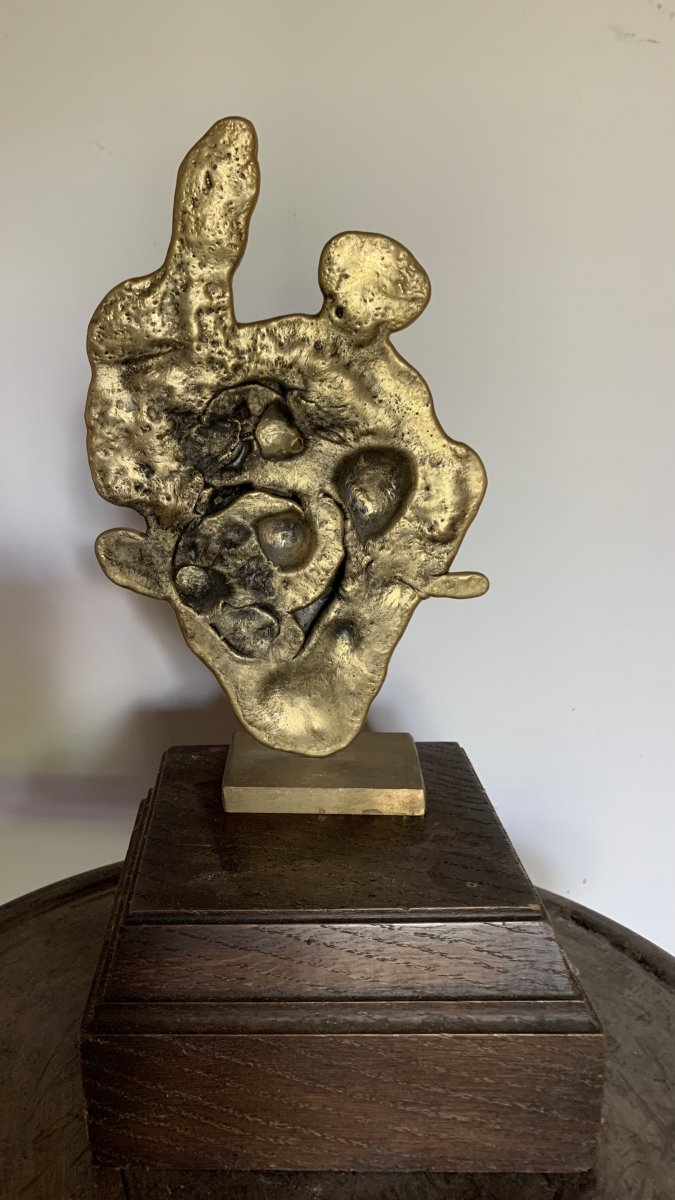 Sculpture Forme Libre Circa 60-photo-2