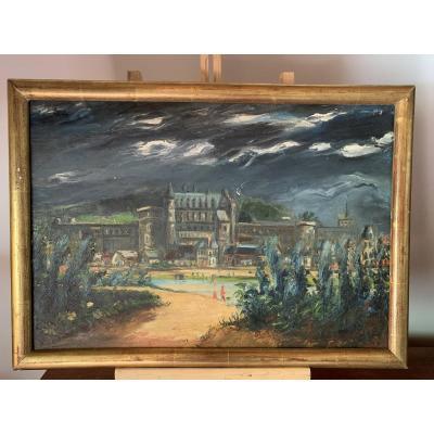 The Chateau d'Amboise. Ferdinand Desnos 1939