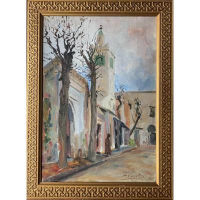 Paul Carrère , Vue Orientaliste  1930