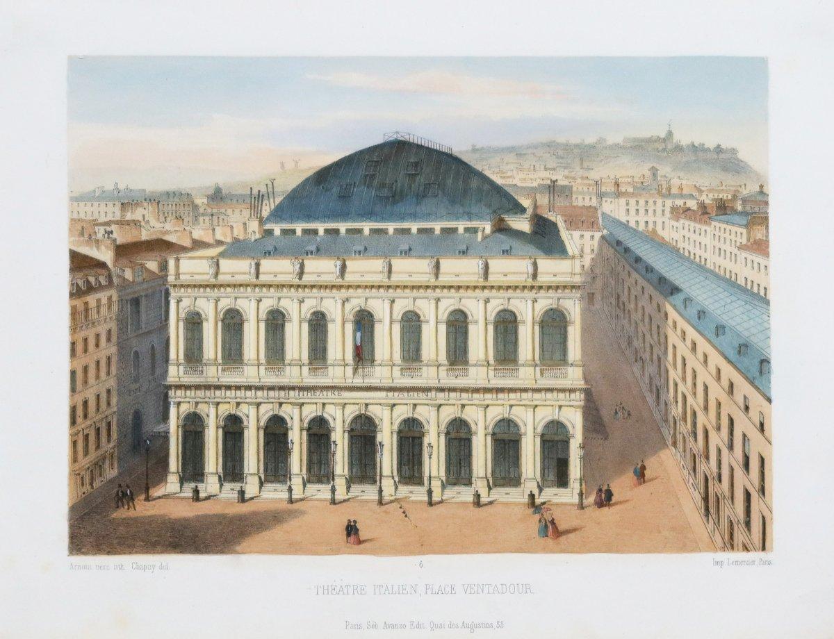 Théâtre italien – Place Ventadour – Paris