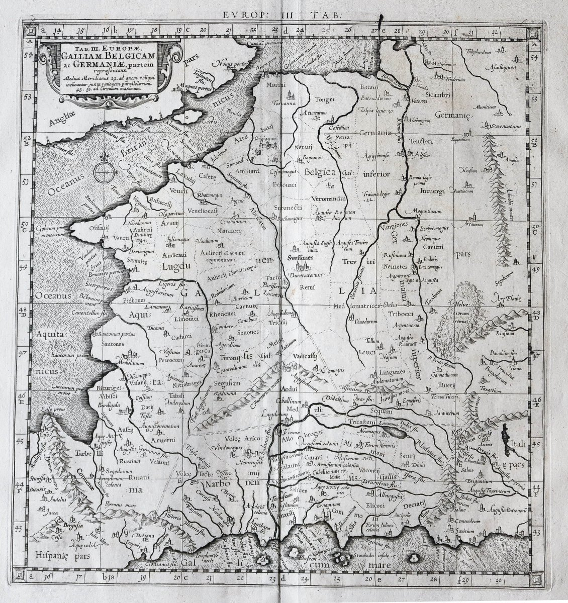 Carte De France Et Des Flandres