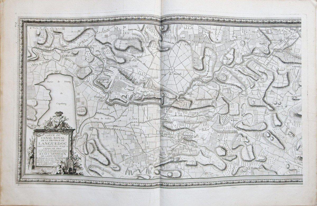 Atlas ancien du Canal du Midi  Languedoc-photo-1