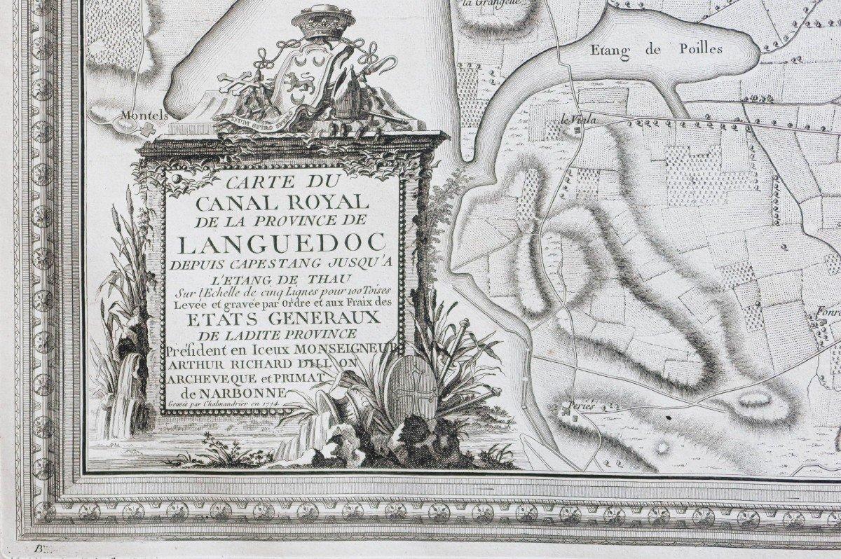 Atlas ancien du Canal du Midi  Languedoc-photo-2