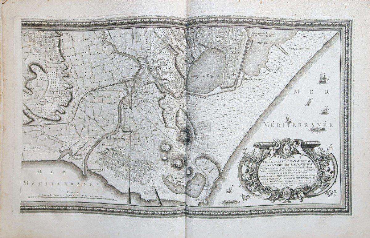 Atlas ancien du Canal du Midi  Languedoc-photo-3