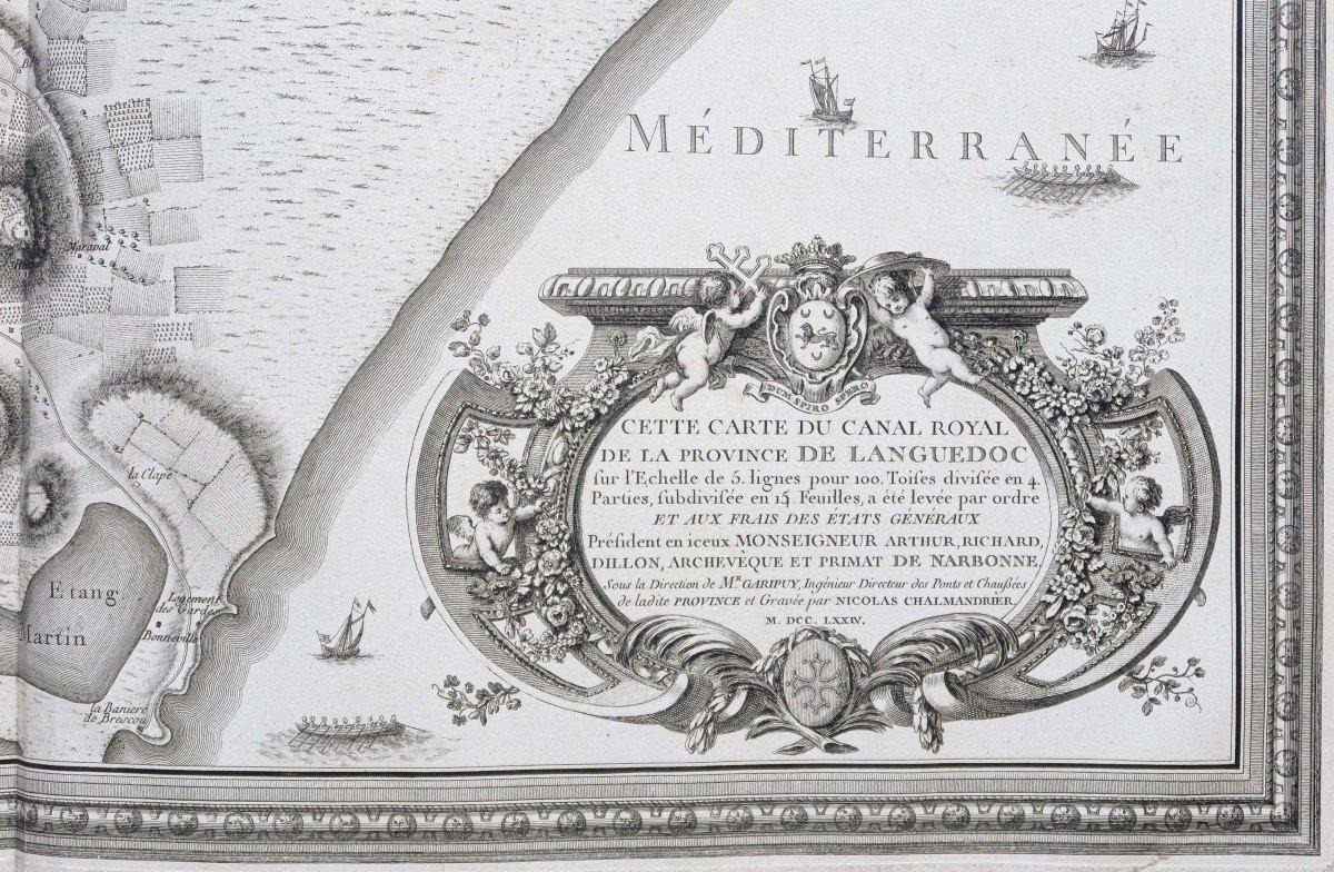 Atlas ancien du Canal du Midi  Languedoc-photo-4