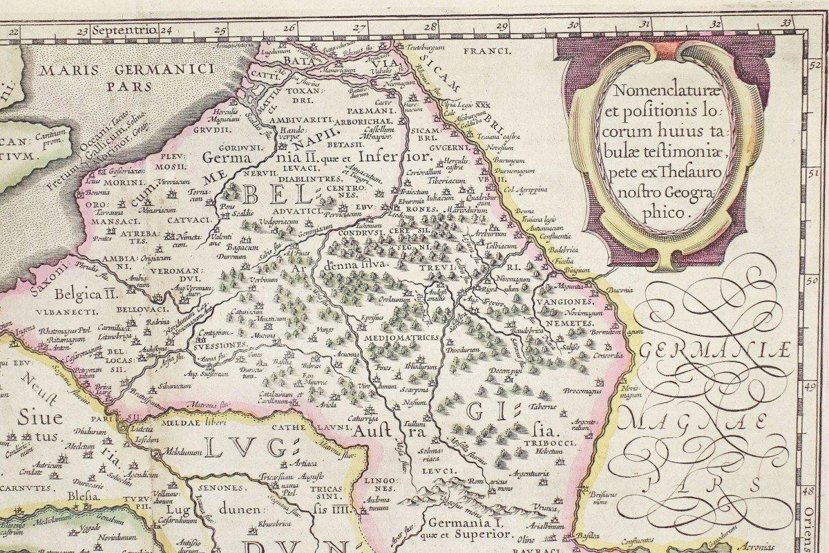 Carte Géographique Ancienne De La France – Galliae-photo-3