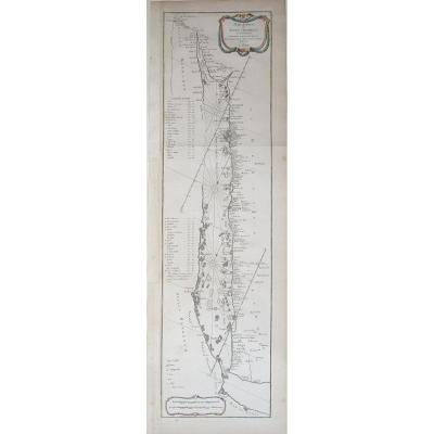 Orignal Antique Map - Persian Gulf - Red Sea - Red Sea