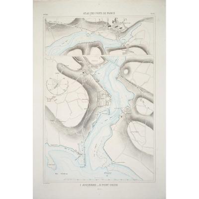 Carte Marine Ancienne – Audierne – Pont – Croix