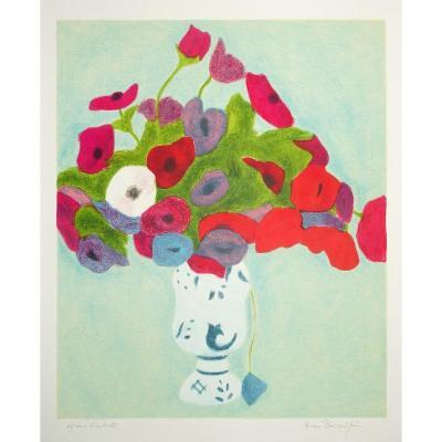 Bouquet dans un vase - Fleurs