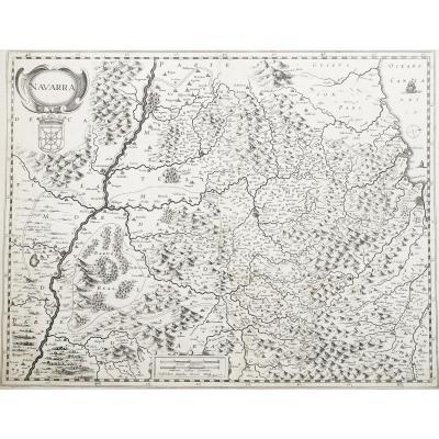 Carte géographique ancienne – Navarre
