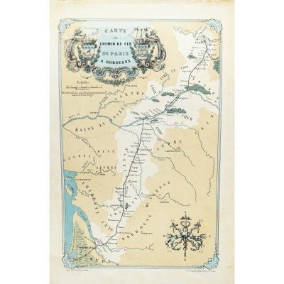 Bordeaux - bassin d'Arcachon - Voyage illustré du chemin de fer de Paris à Bordeaux