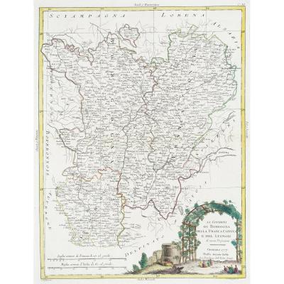 la Bourgogne et Franche-Comté – Zatta cartographe