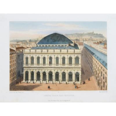 Italian Theater - Place Ventadour - Paris