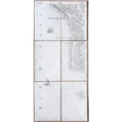 Ile d'Oléron – Maumusson – Cordouan – Carte de Cassini n° 134