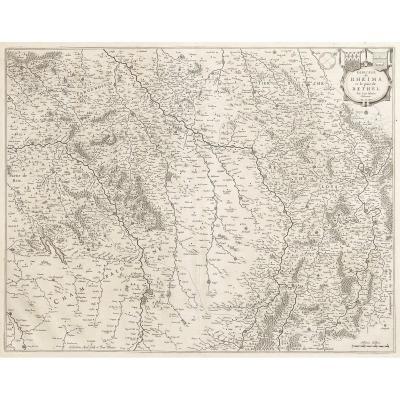 Diocèse de Reims et païs de Rethel -carte ancienne