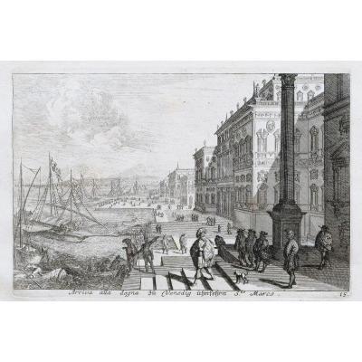 Gravure ancienne de Venise