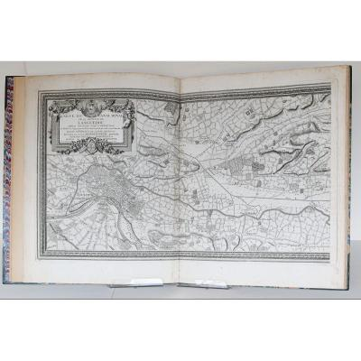Ancient Atlas Of The Canal Du Midi Languedoc