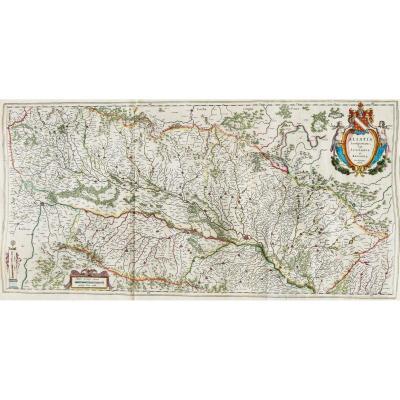 Carte Ancienne De L'alsace Et Du Rhin